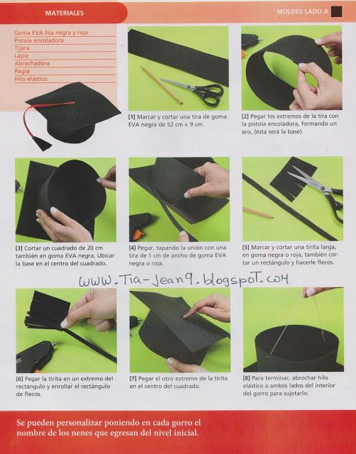 Diy graduation hat