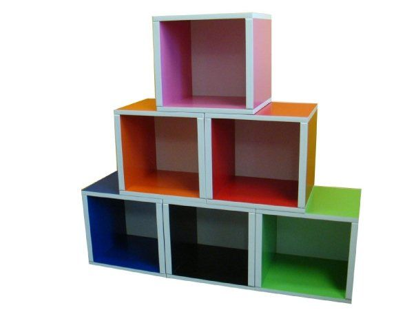 Bright Colorful Toy Storage Options For Kids Home
