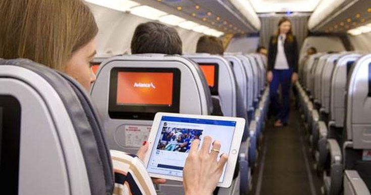 Avianca Brasil passa a oferecer Wi-Fi em avião