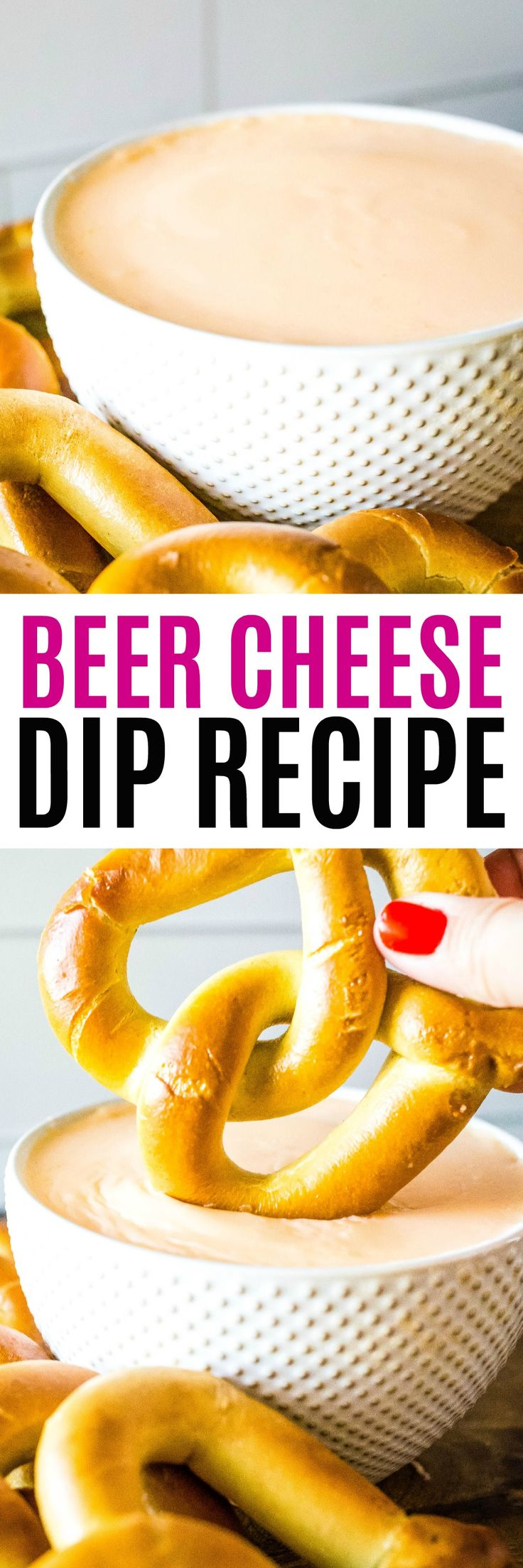 Made with just a few simple ingredients, this easy Beer Cheese Dip is easy to ma…