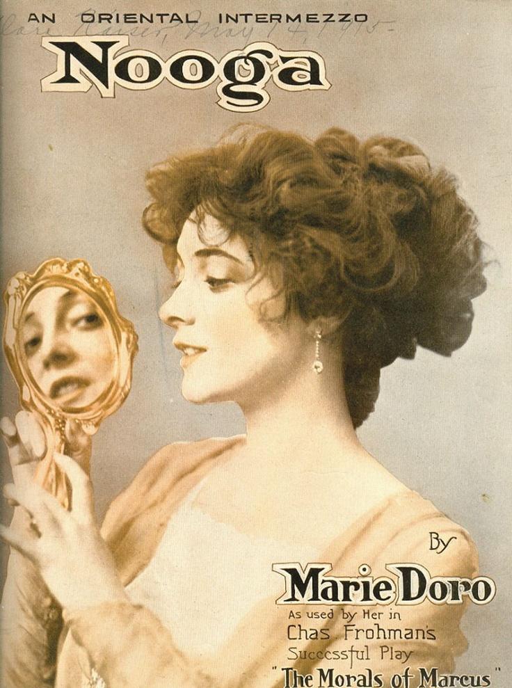 Silent film actress Marie Doro