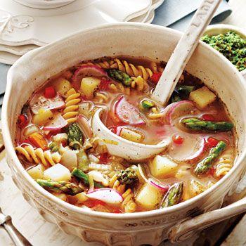 French Vegetable Soup au Pistou Recipe - Fresh Juice