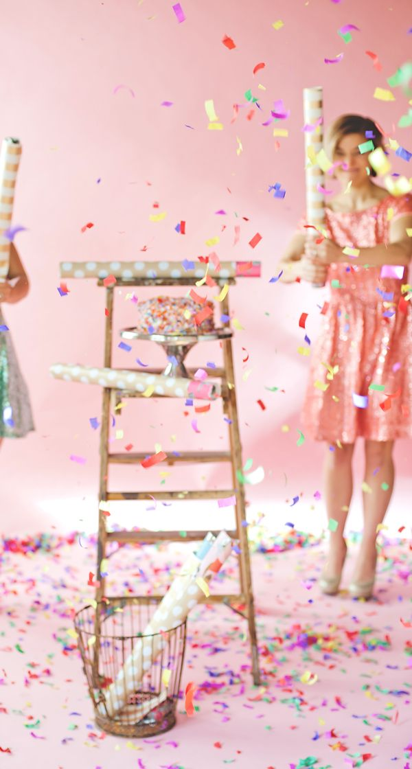 You have to see these Confetti Cannons! They are a BLAST to have at any party. The pretty cannons and confetti blast will seriously WOW your guests.