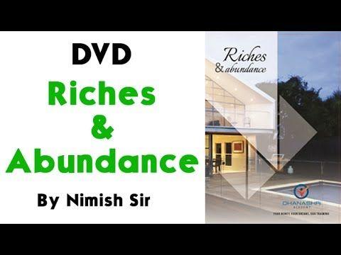 RICHES AND ABUNDANCE DVD | Beginners #Stock Market DVD Course https://www.youtube.com/watch?v=CqeDoV8b9Ww