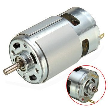 775 Motor DC 12V-36V 3500-9000RPM Motor Large Torque High-power Motor