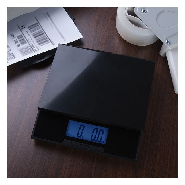 Digiweigh Digital Postal Shipping Scale with Blue LCD Display