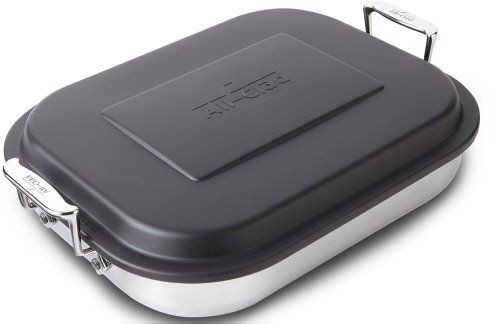 All-Clad 59946 Stainless Steel Lasagna Pan with Lid Specialty Cookware, 14.5 by 11.75 by 2.5-Inch, Silver  #11.75 #14.5 #2.5Inch #59946 #All-Clad #AllClad #Cookware #Lasagna #Silver #Specialty #Stainless #Steel cookwareview.com