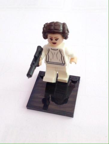 ORIGINAL Princess Leia Star Wars Princess Leia Minifigure Dargo Building Blocks - ChavezFigures