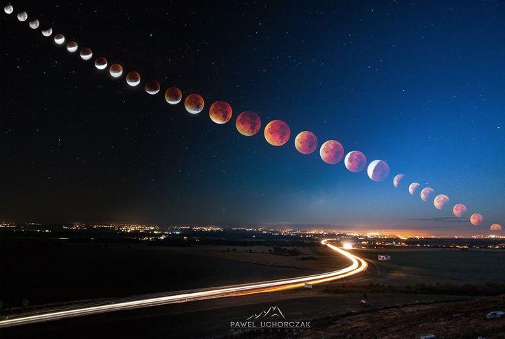 Gallery: Best of Imgur Blood Moon W/ links to original posts