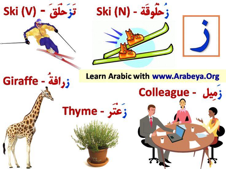Best Arabic Letters Images On   Arabic Alphabet