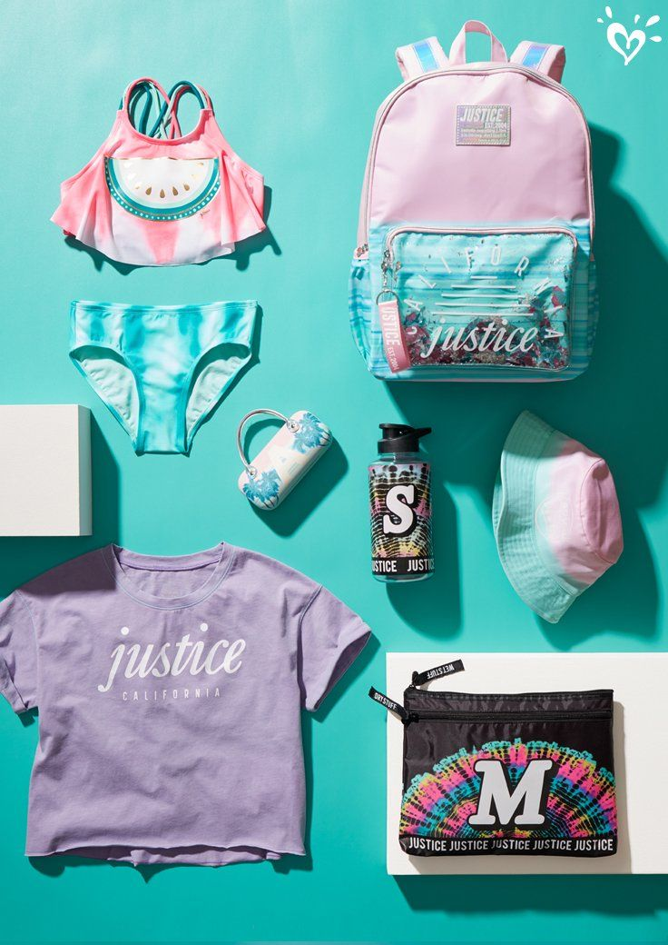 Everything She Needs For All Day Fun In The Sun Justice Clothing Justice Girls Clothes Girls Fashion Clothes