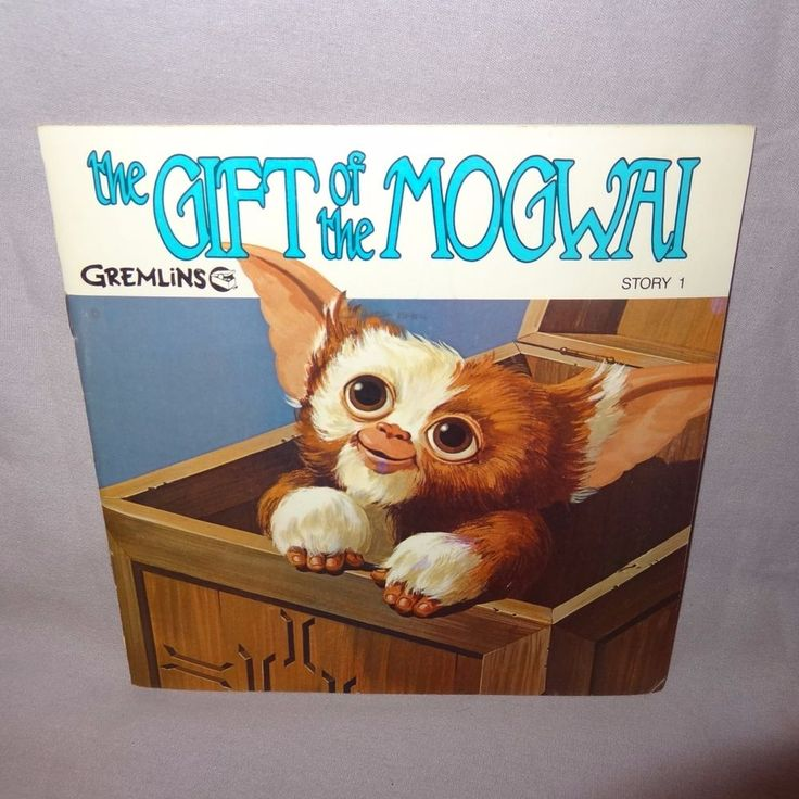 Title : The Gift of the Mogwai Gremlins Story 1. Year: 1984. Item: Paperback book with record. Read a long book with record. Condition: Wear to corners and spine. Scratch marks on covers. Record does not have scratches. | eBay!