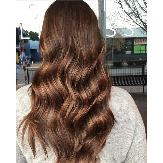 milk chocolate brown hair color milk chocolate brunette color by hairbyaliciafryearson