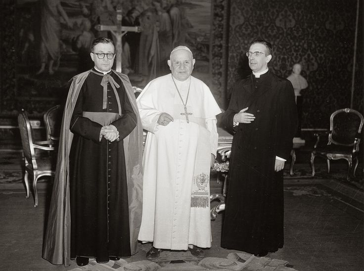 San Josemaría, Juan XXIII y Álvaro del Portillo | Flickr - Photo Sharing!