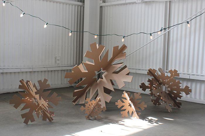 Christmas paper decoration - April and mayApril and may