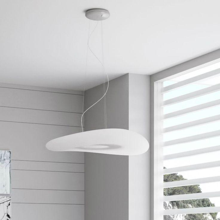Una forma particolare e pulita perfetta per ambienti moderni, Mr Maggo è disponibile anche nelle nuove versioni led.