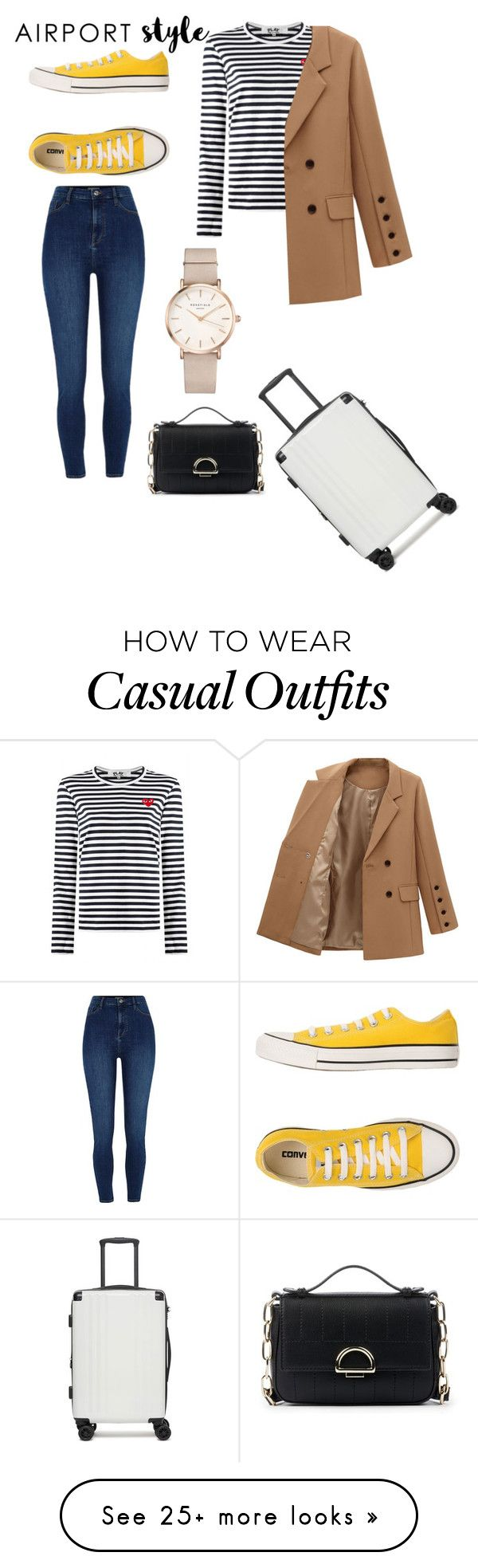 """""""Untitled #167"""" by spacegirl-1 on Polyvore featuring CalPak, River Island, Converse, ROSEFIELD, Sole Society and airportstyle"""