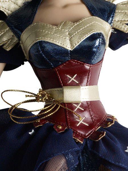 Boneca da Mulher Maravilha em estilo Steampunk   Nerd Da Hora