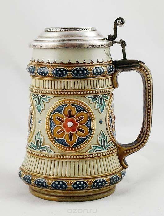 Пивная кружка Villeroy & Boch . Керамика, фаянс, роспись. Германия ...