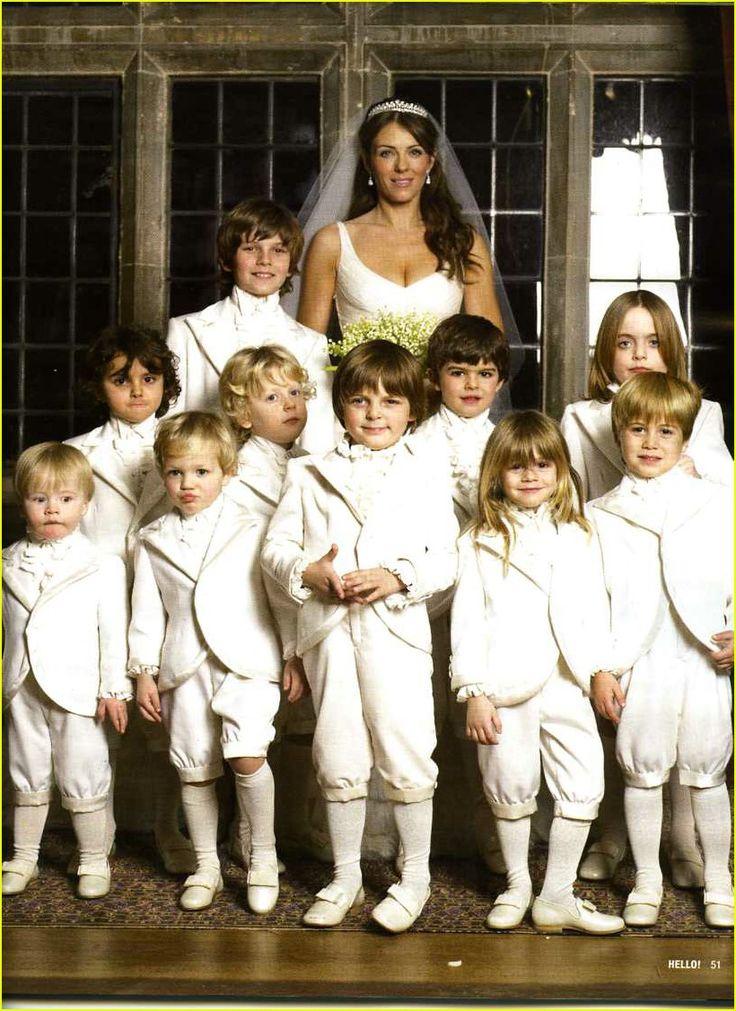 Liz Hurley's Wedding Continued!