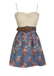 I love this dress! It would be perfect to wear to church! But I have to get paw paw Phil's and daddy's approval first!!:)