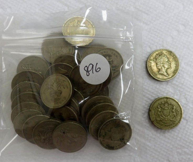 30- Pounds in 1 Pound Coins.  Price : $0.99  Ends on : 1 day Order Now