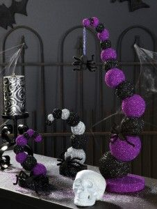 perfect table decorations for a halloween wedding great diy project keywords halloweenthemedweddingideas - Halloween Centerpieces Wedding