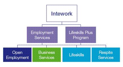 Intework can support with employment programs for people with disabilities, Lifeskills programs and respite support