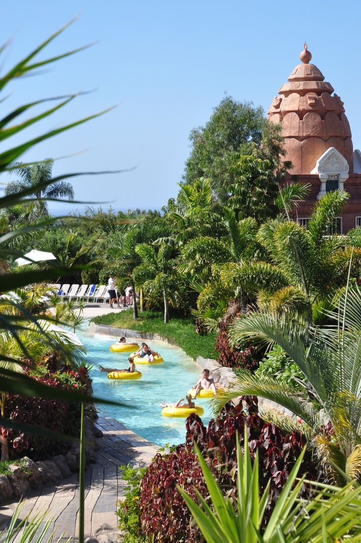 Siam Park waterpark, Costa Adeje, Tenerife, Canary Islands