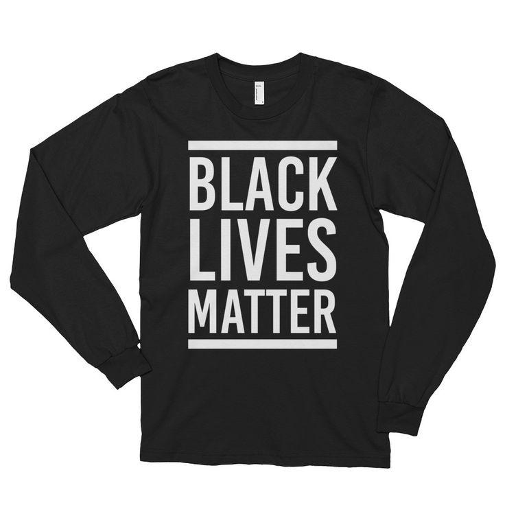 Black Lives Matter Long Sleeve T-Shirt (unisex) | 9th Wave