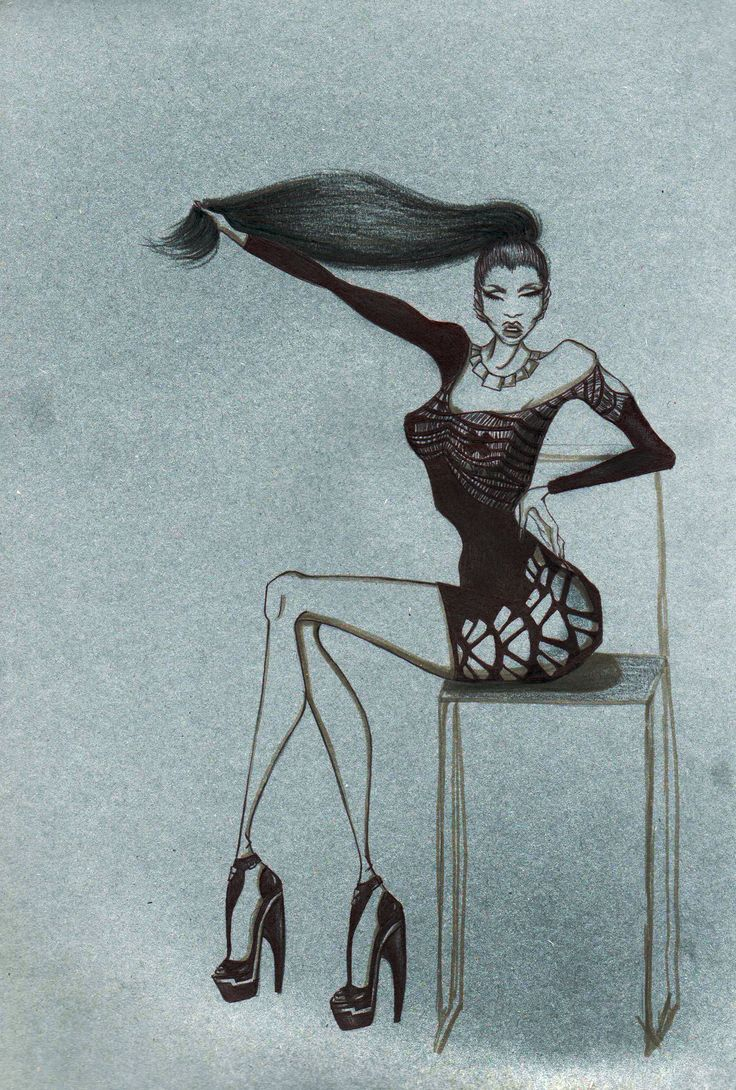 #my #draw #mydraw #nicki #minaj #nickiminaj #bic #pen #fashin #lookinass #like #fashion #fashionista #fashiondraw #illustration #fashionillustration #style #potd #photooftheday #drawing #likes