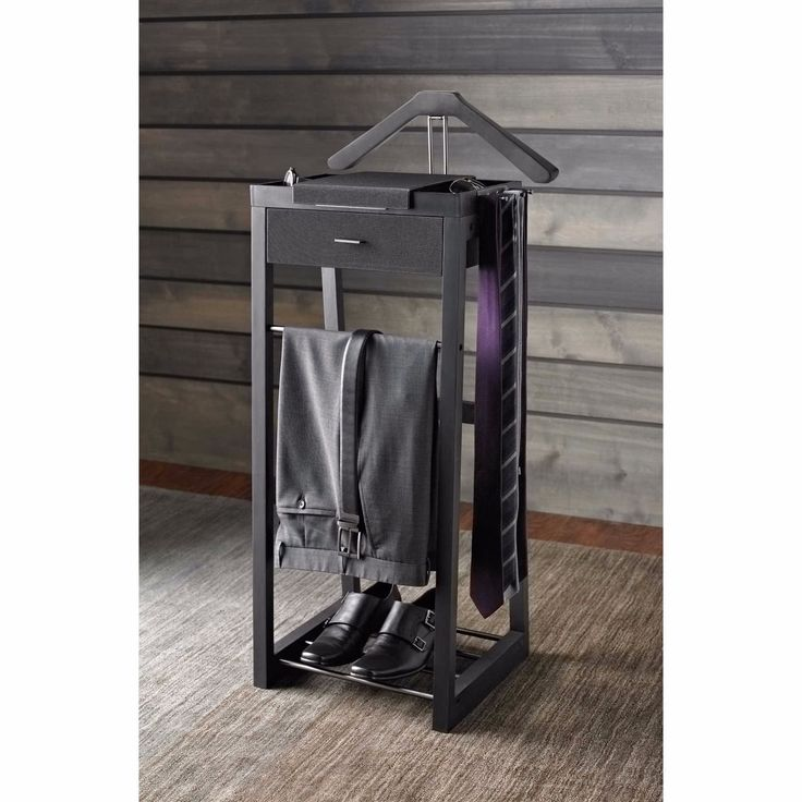 standing valet stand kenneth cole home office suit organizer loft pinterest home suits. Black Bedroom Furniture Sets. Home Design Ideas