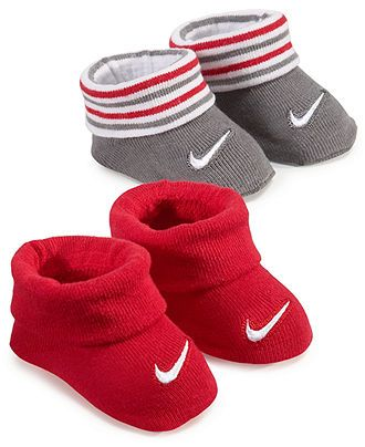 Nike Baby Socks, Baby Boys 2-Pack Booties - Kids Nike - Macy's