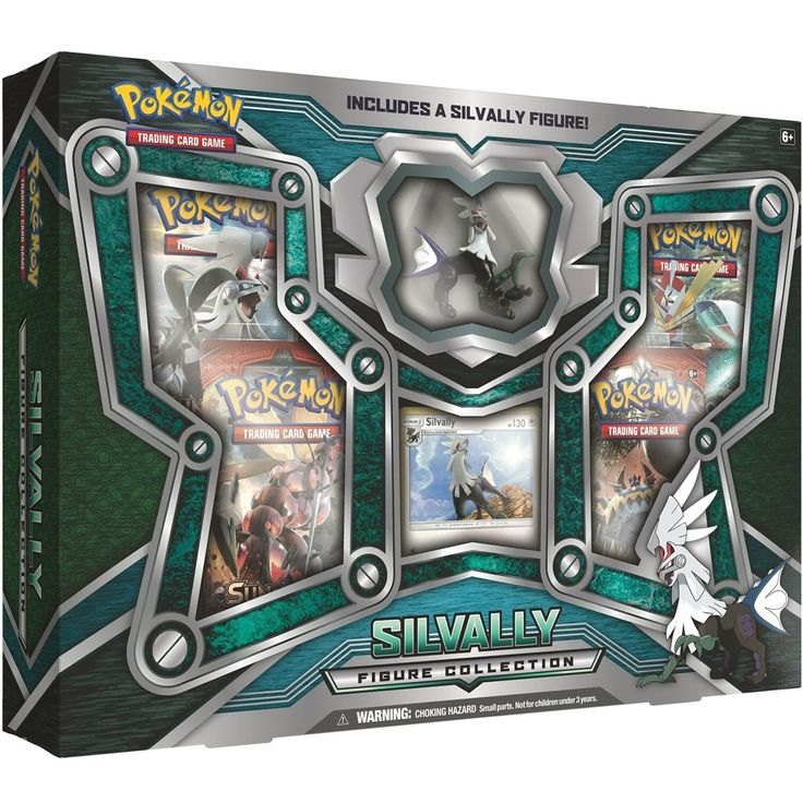 Gear Scan Activated: Silvally Ready for Battle! Contents:  1 foil promo card featuring Silvally! 1 detailed figure of Silvally!  4 Pokémon TCG booster packs A code card for the Pokémon Online #pokemon #pokemonTCG #silvaly #toy #fun #game #gaming #games #cardgame #trading #figure