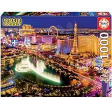 Educa 1000 Parça Neon Puzzle Las Vegas 16761