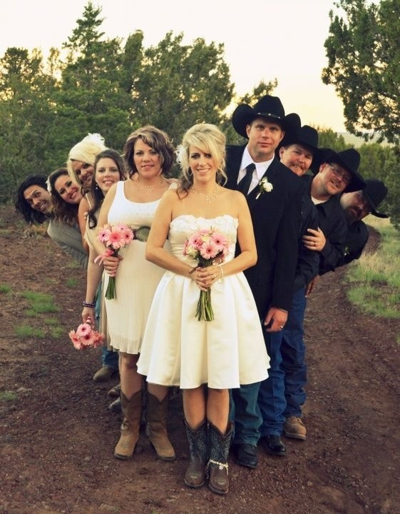 Fun wedding picture idea, I would put the bride and groom side by side.