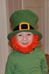 Как связать костюм ирландский