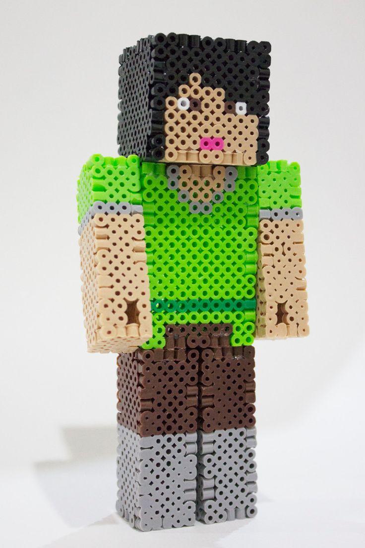 Pyssla Minecraft 3d