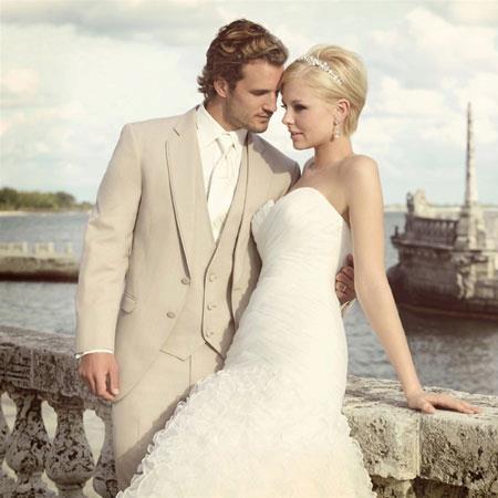 Allure Tan Tuxedo. Perfect for Destination Weddings!