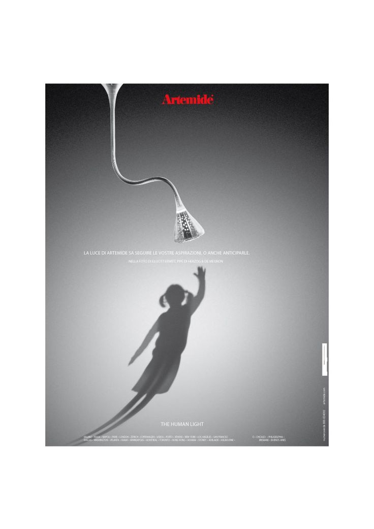 14 best Artemide ADV Campaign images on Pinterest