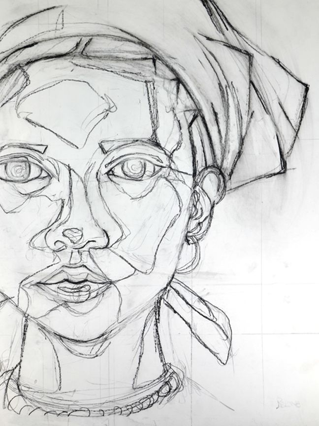 Contour Line Drawing Easy : Best images about people contour on pinterest