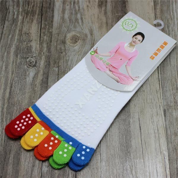 Women Non-slip Colorful Yoga Socks