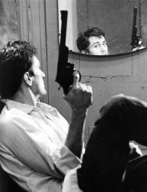 Robert De Niro in 'Taxi Driver', 1976.