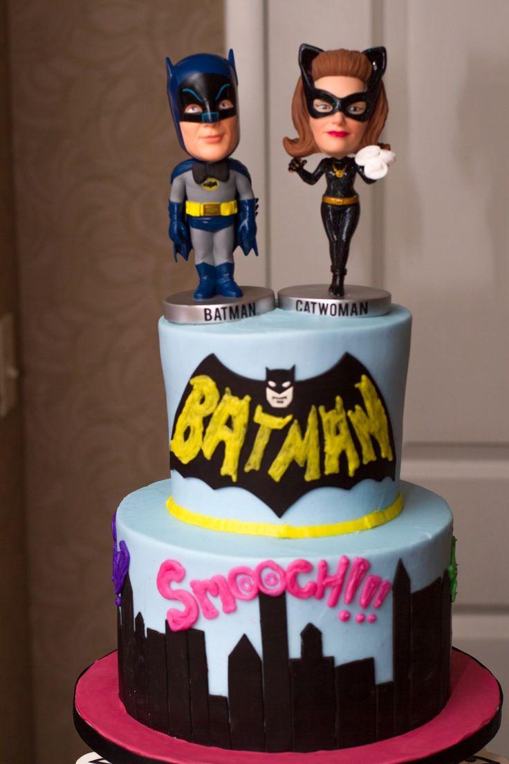 Medium Shot Of Our Batman Wedding Cake Our Batman