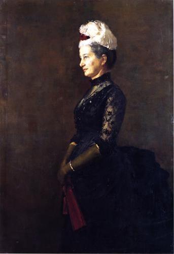 1887 - Madame Pfund - Tom Roberts