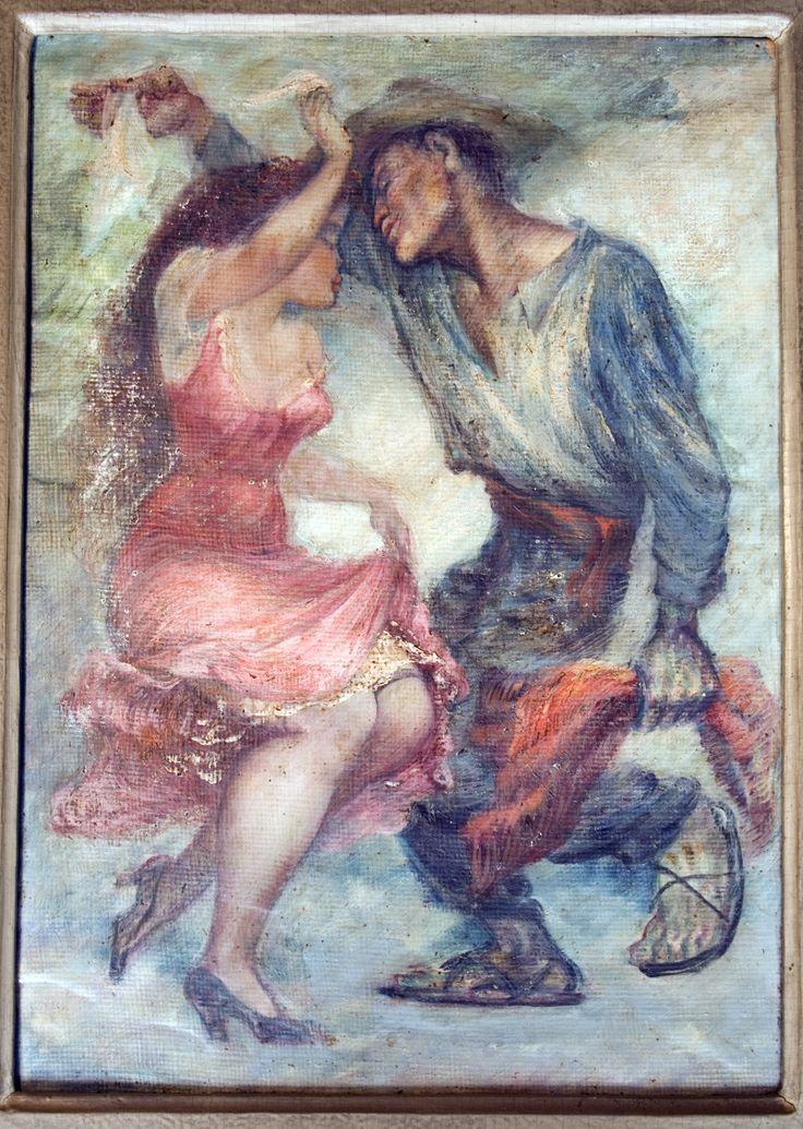 Pedro Lobos (1919-1968) Pintor Chileno