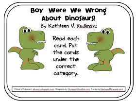 Boy, Were We Wrong About Dinosaurs! - Freebie - Text Exemplar