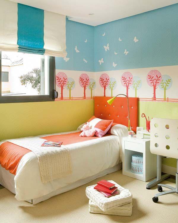 17 mejores im genes sobre color en las habitaciones - Dormitorios infantiles unisex ...