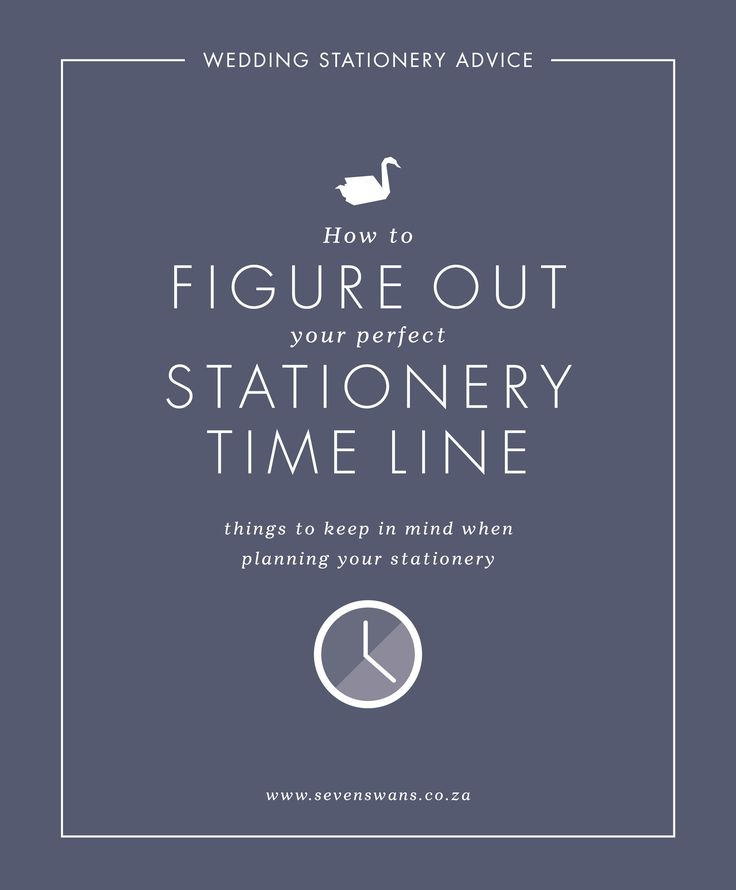 We share tips on when to get in touch with your wedding stationer, what to keep in mind and how to stay on track! Seven Swans Stationery