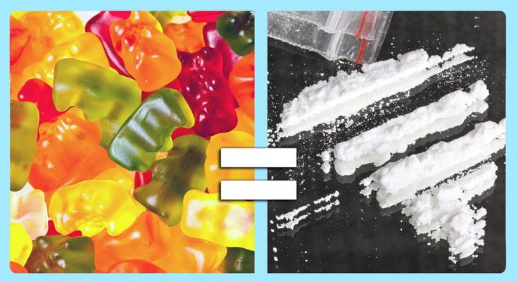 7 Types of Candy and Their Drug Equivalents